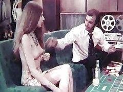 vintage 70s danish - Black Whooper - cc79