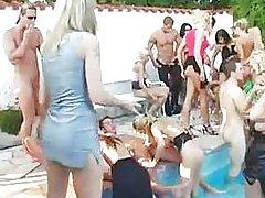 Pool super orgy