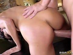 Brazzers - Hot Brunette Schoolgirl Fucks Her Study-Buddy