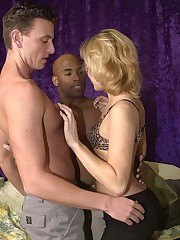 Hot bi boys eating hard pipe and licking sweet pussy