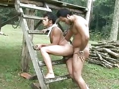 Hot and steamy ethnic bareback