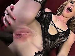 Allie James ass fucked by Mandingo