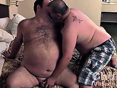 Daddies Big Round Hairy Belly