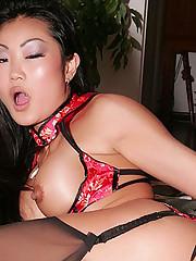 Naughty Asian Striptease