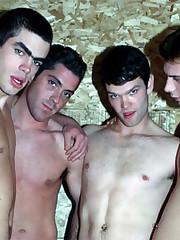 Gay Shower Blowjob