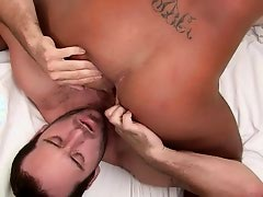 Guy gets his butt creamed - Factory Video
