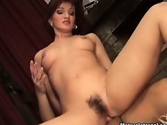 She enjoys in hot wax during horny banging