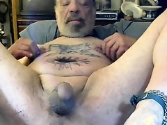 tonyslave naked and punishing and torturing himself as