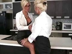 Euro Babe Puma Swede Fucks the Office Slut!