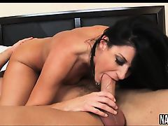 Petite MILF Rides Young Cock Hard India Summer