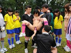 Soccer hotties get punished with cock and cum for mistakes - AviDolz